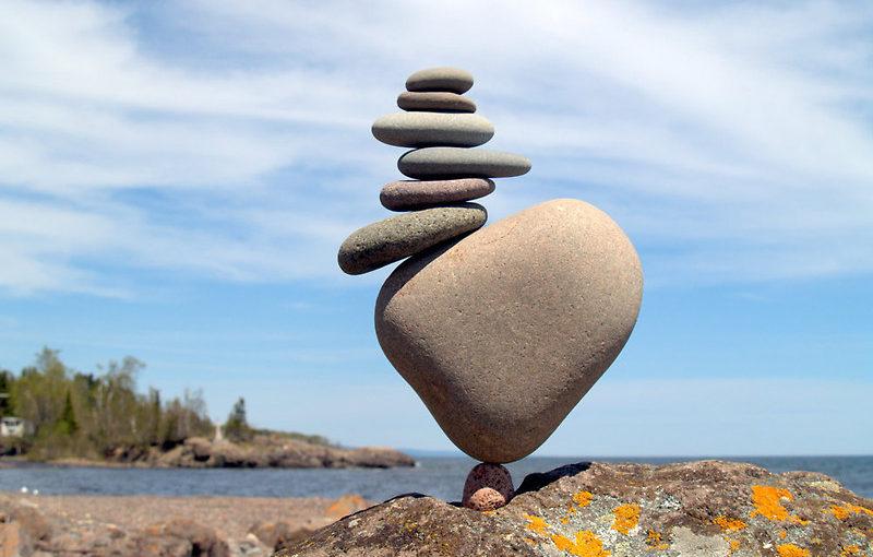 Как найти опору в жизни: упражнение Пять точек баланса.