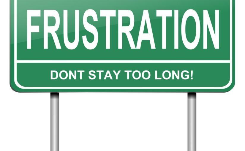 Это красивое слово ФРУСТРАЦИЯ: как бороться с последствиями разрушенных планов.