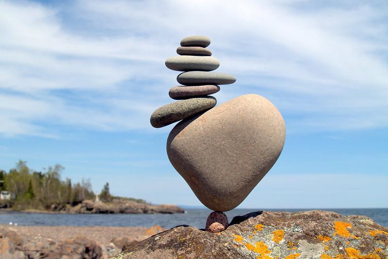 Как найти опору в жизни: упражнение Пять точек баланса